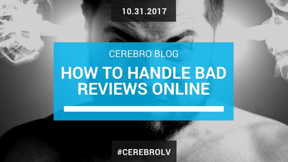 How to Handle Bad Reviews Online